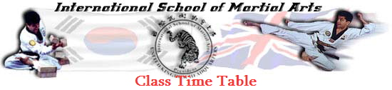 Class Time Table